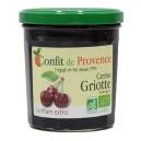 CONFITURE GRIOTTES 370G CONFIT PROVENCE BIO