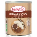 PREPARATION CEREALES CACAO 220G 8 MOIS BABYBIO BIO
